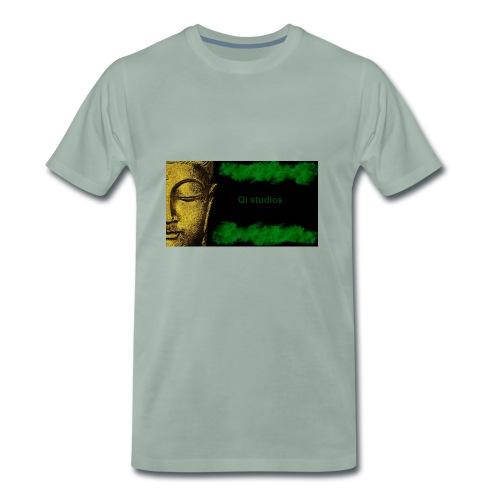 Business Major Label Qi studios - Männer Premium T-Shirt
