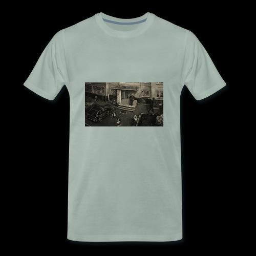 BLOCK HOODIE - Männer Premium T-Shirt
