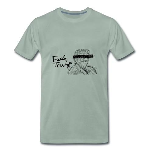 F*ck Trump Draw - Männer Premium T-Shirt