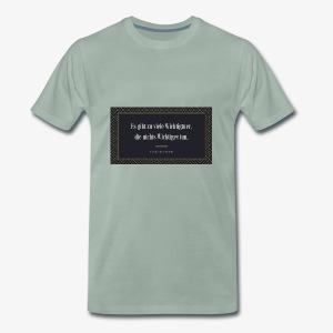 Friedrich Dürrenmatt – Zitat - Männer Premium T-Shirt