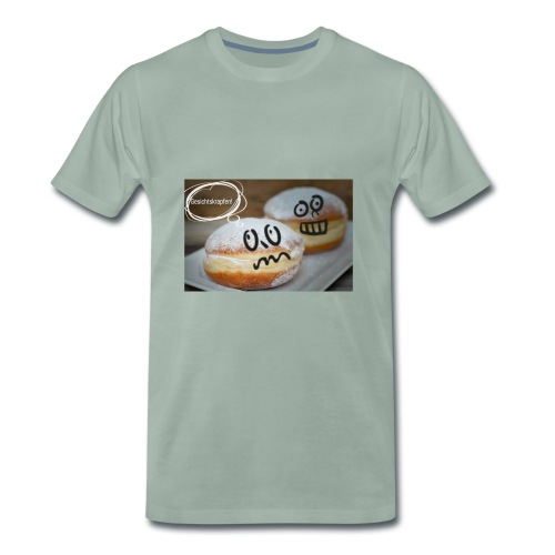 Gesichtskrapfen - Männer Premium T-Shirt