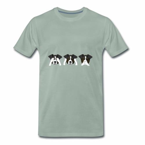 perritos - Camiseta premium hombre
