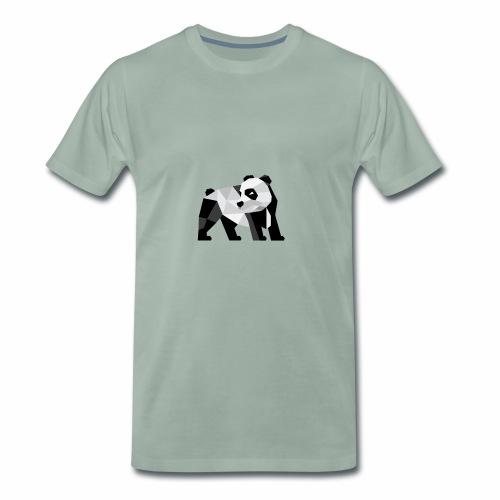PANDA Modern - Männer Premium T-Shirt