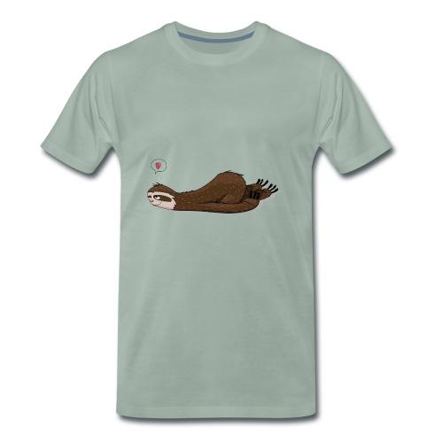 FaultierTraeumend - Männer Premium T-Shirt