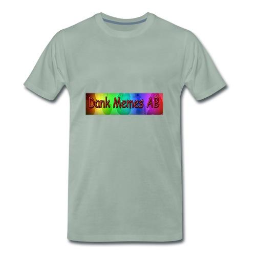 Dank Memes AB Hoodie - Premium-T-shirt herr