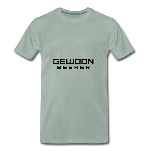 Naamloos gewoon besher logo vollledig - Mannen Premium T-shirt