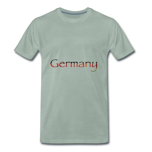 Deutschland Schriftzug Horizontal - Männer Premium T-Shirt