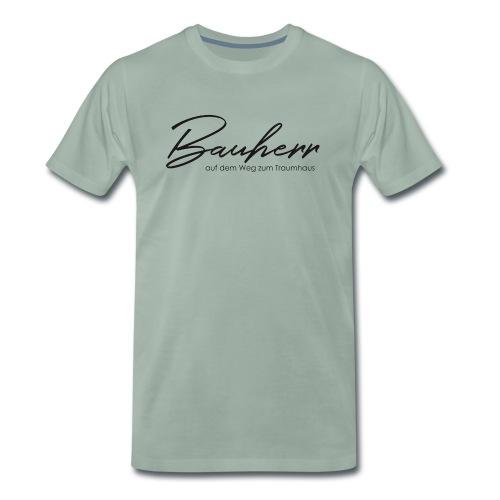 Bauherr, Kollektion: Schlüsselmomente - Männer Premium T-Shirt