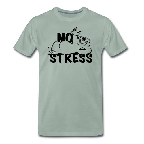 No Stress - Männer Premium T-Shirt