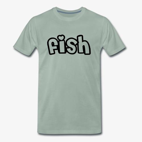Einfaches Design - Männer Premium T-Shirt