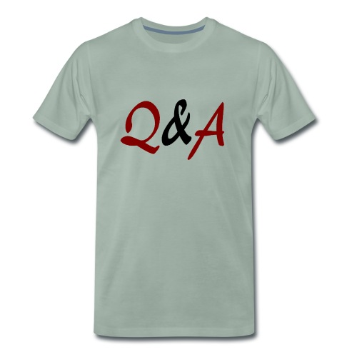 Q A - Männer Premium T-Shirt