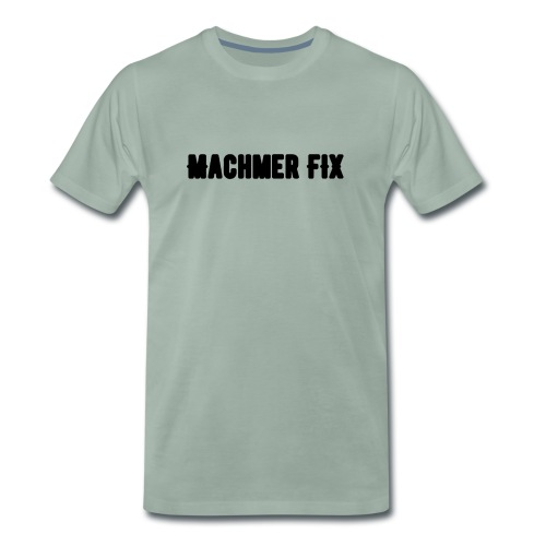 machmerfix transparent - Männer Premium T-Shirt