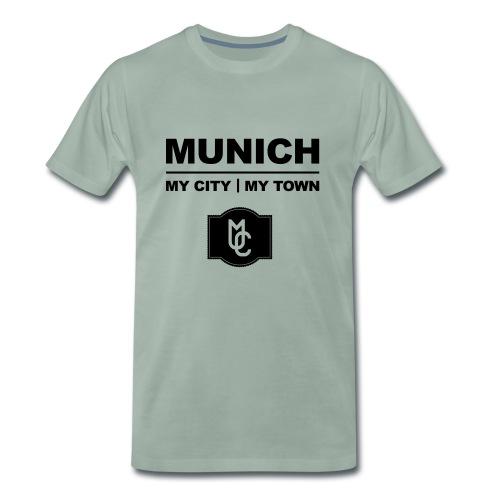 MY CITY MY TOWN - Männer Premium T-Shirt