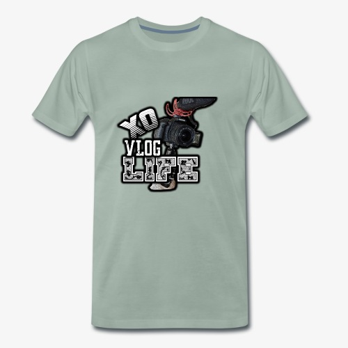 XO VLOG LIFE ! - Men's Premium T-Shirt