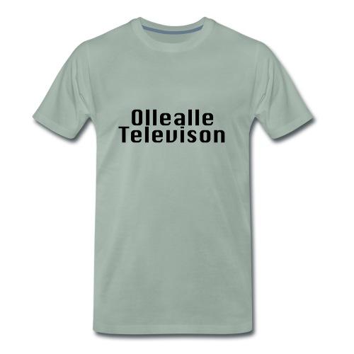 Ollealle Television - Premium-T-shirt herr