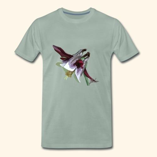 Purple Aquilegia - Men's Premium T-Shirt