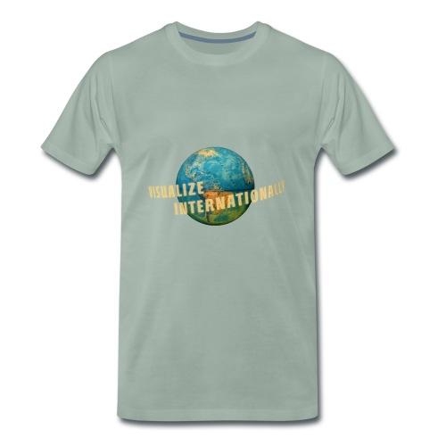 Visualize Internationaly Girls Tshirt - Men's Premium T-Shirt