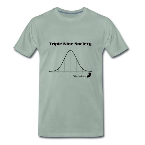 Gauss Black 1 - Men's Premium T-Shirt