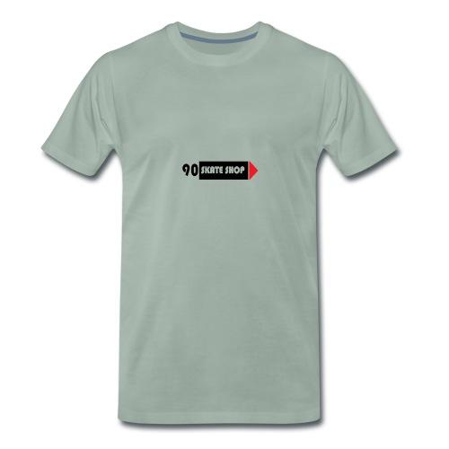 90 skate shop - Camiseta premium hombre