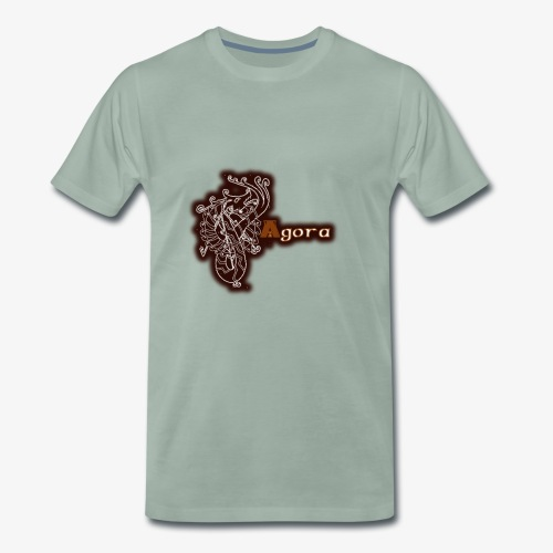 Agora Logo - Men's Premium T-Shirt