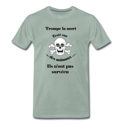 Trompe la mort «rieur» Test animal FC - T-shirt Premium Homme