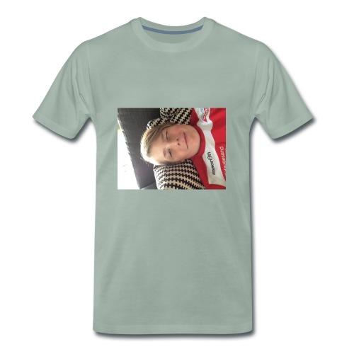 Min første T-skjorte - Premium T-skjorte for menn