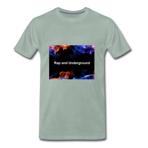 Rap and underground logo - Männer Premium T-Shirt