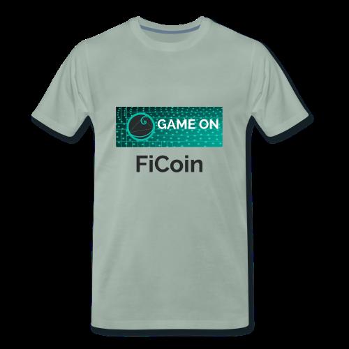 GameOn Dark Tekst - Mannen Premium T-shirt