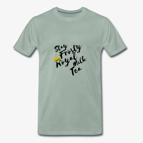 Stay Frosty Royal Milk Tea Fall Out Boy - Men's Premium T-Shirt