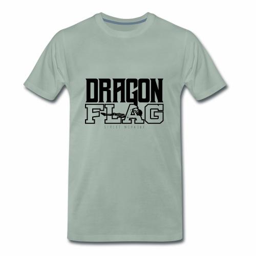 DragonFlag Logo Black - T-shirt Premium Homme