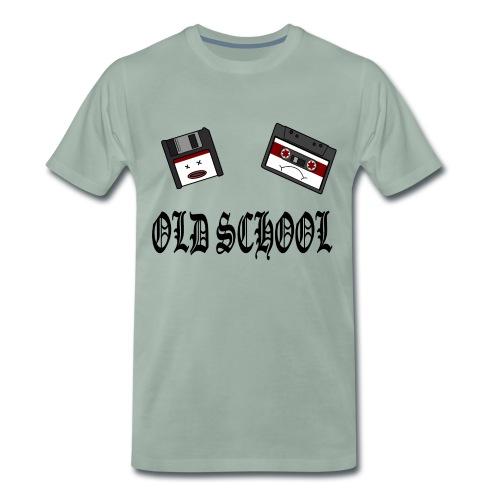 Old School Design - Männer Premium T-Shirt