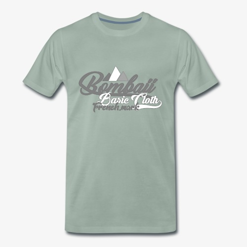 BomBaii french mountain grey - T-shirt Premium Homme