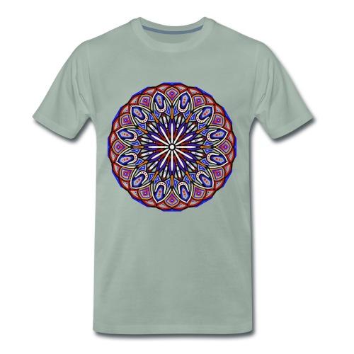 mandala fantastico ideale per tutti i giorni - Maglietta Premium da uomo