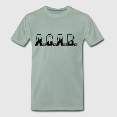 ACAB - Koszulka męska Premium