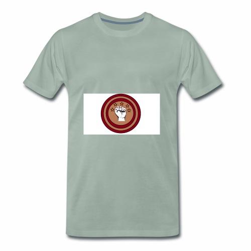 Bouclier et poing gamer - T-shirt Premium Homme