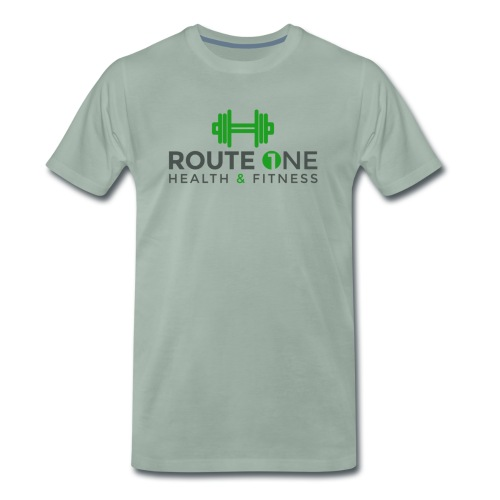Route 1 Health and Fitness - Men's Premium T-Shirt