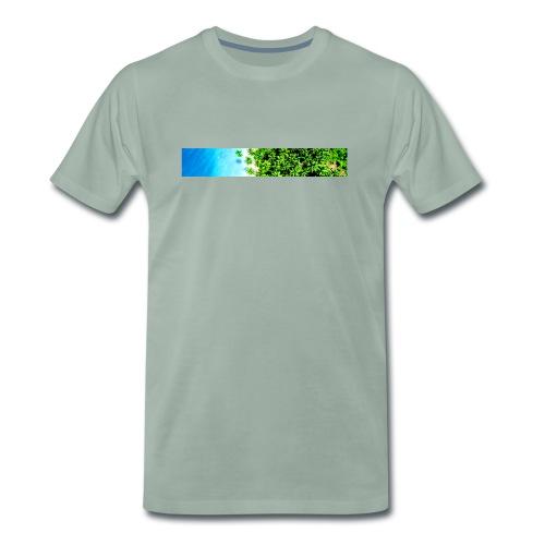 Tropical Birdview - Männer Premium T-Shirt