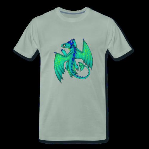 Comic Sandzahn - Männer Premium T-Shirt