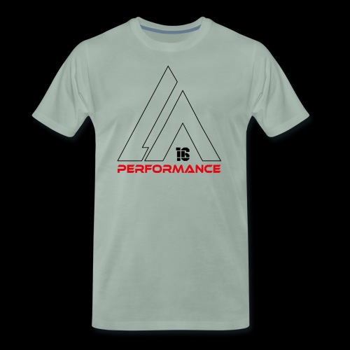 LA Performamce black/red - Männer Premium T-Shirt