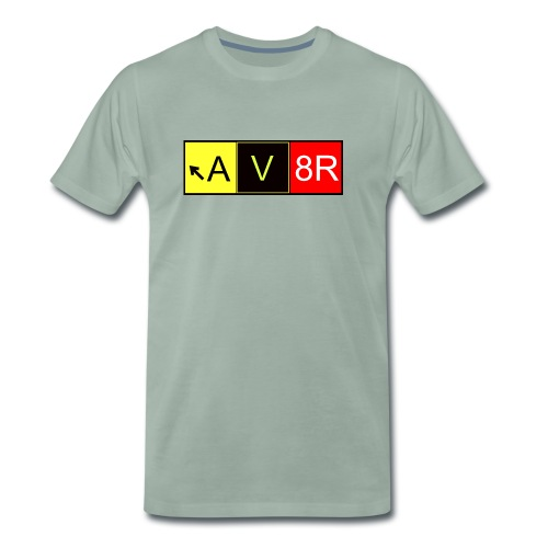 Taxiway AV8R - Männer Premium T-Shirt