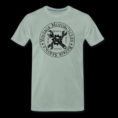 Vintage Motorcycles Repair Service - Männer Premium T-Shirt