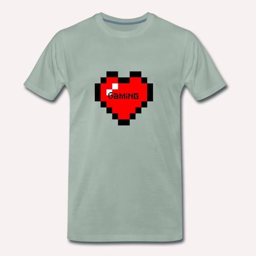 Heart of Gaming - Männer Premium T-Shirt