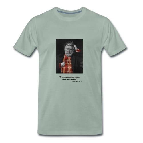 Victor Hugo Hipster - T-shirt Premium Homme