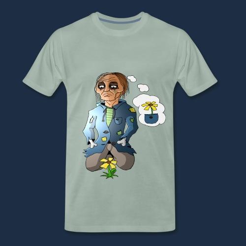 Trauriger Zombie - Männer Premium T-Shirt