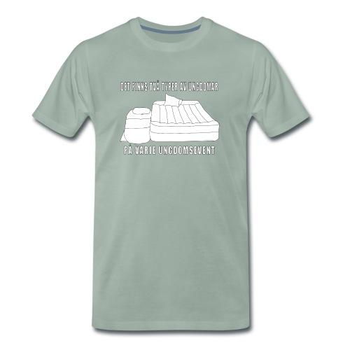 Två typer av ungdomar - Premium-T-shirt herr