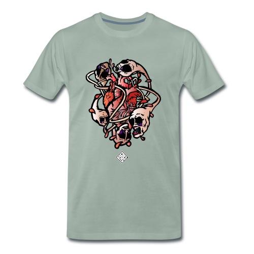 Heart-Parano - T-shirt Premium Homme