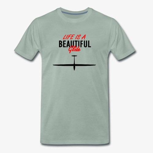 Life is a beautiful glide - T-shirt Premium Homme