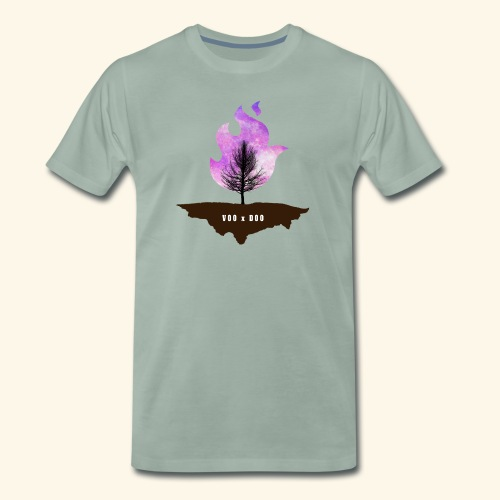 Galaxy Tree - Männer Premium T-Shirt