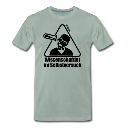 Wissenschaftler im Selbstversuch - Männer Premium T-Shirt