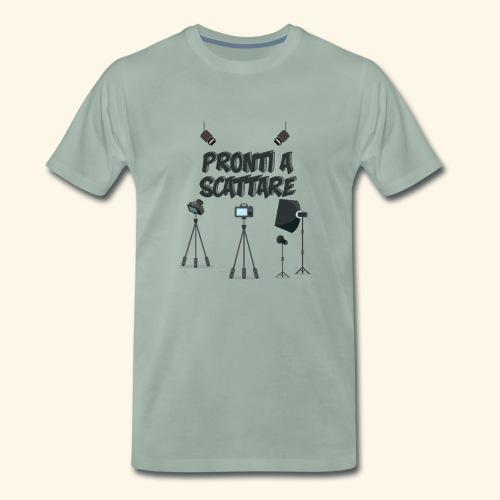 pronti a scattare - Maglietta Premium da uomo